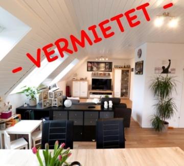 —- VERMIETET —- Geräumige Einliegerwohnung mit Balkon in Lowick, 46395 Bocholt, Etagenwohnung